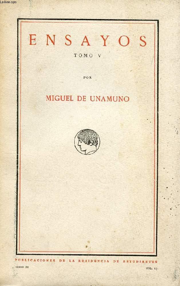 ENSAYOS, TOMO V