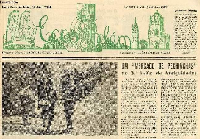 ECOS DE BELEM, N° 1539, AVENÇA, ANO XXXIII