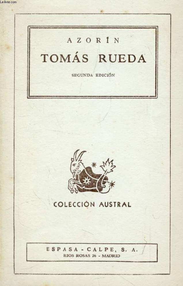 TOMAS RUEDA (Coleccion Austral, N° 248)