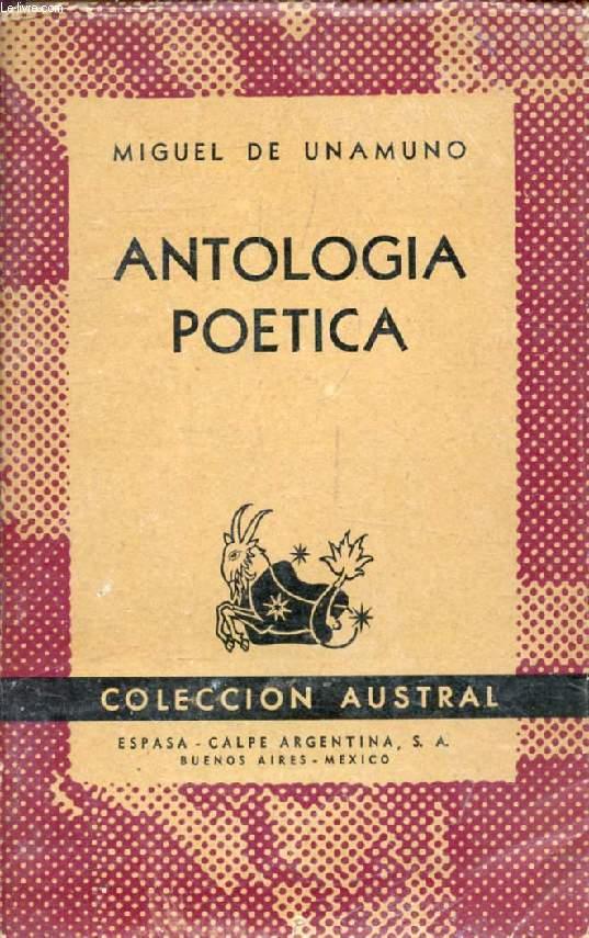 ANTOLOGIA POETICA (Coleccion Austral, 601)