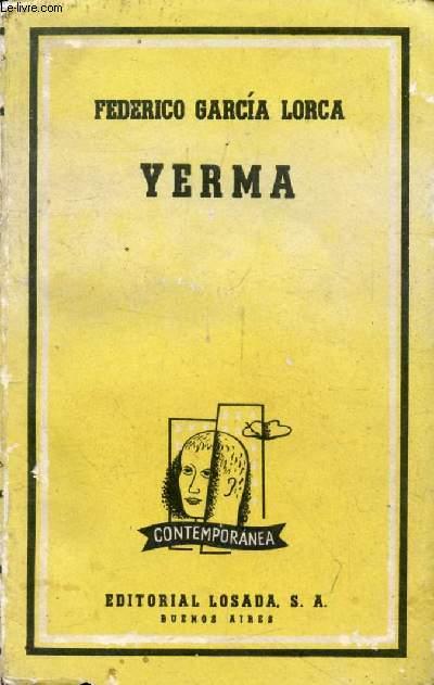 YERMA (Biblioteca Contemporanea, 131)
