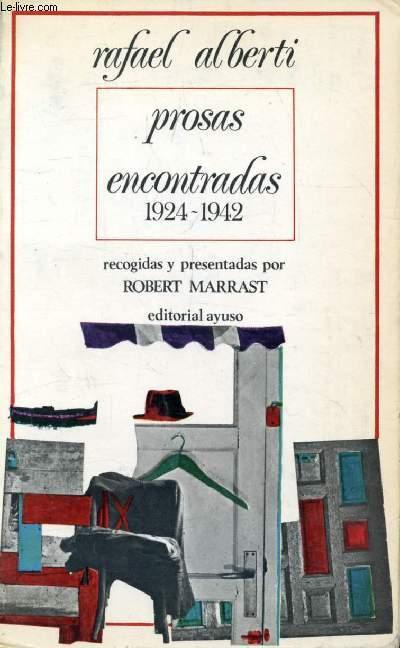 PROSAS ENCONTRADAS (1924-1942)