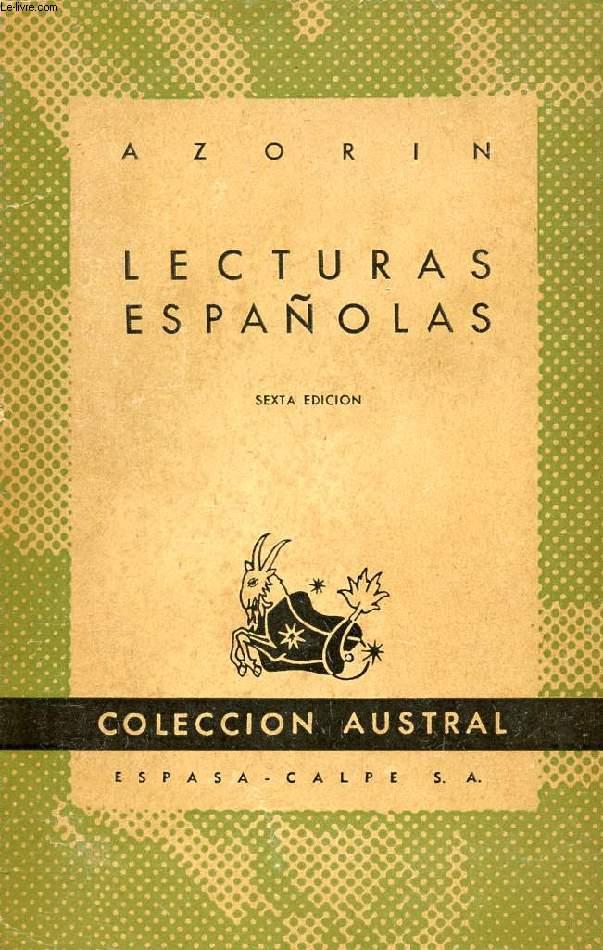 LECTURAS ESPAÑOLAS, COLECCIÓN AUSTRAL, N° 36