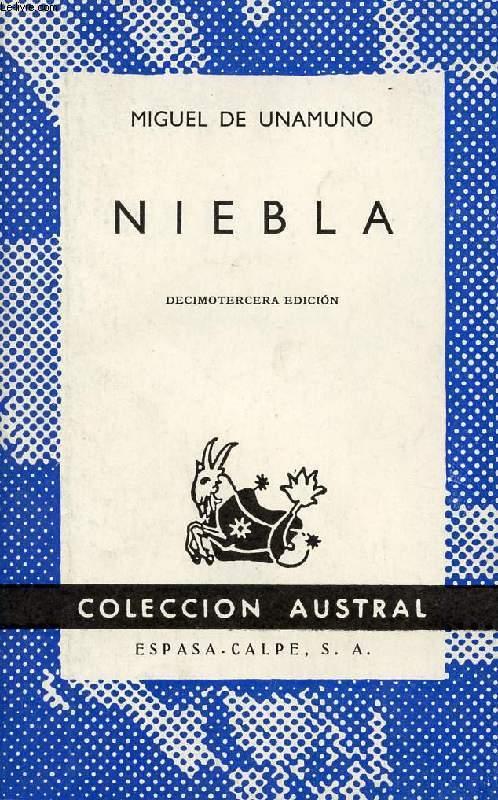 NIEBLA (NIVOLA), COLECCIÓN AUSTRAL, N° 99