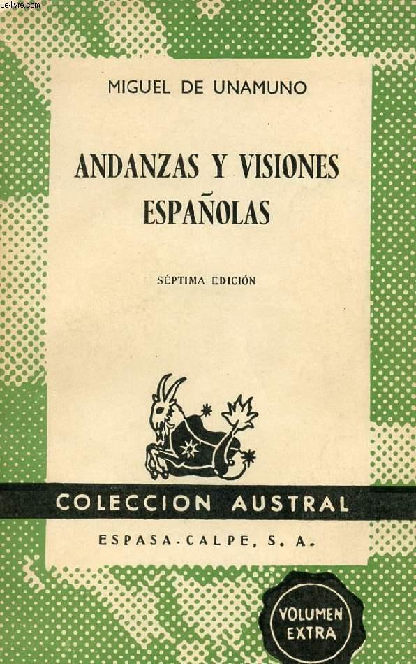 ANDANZAS Y VISIONES ESPAÑOLAS, COLECCIÓN AUSTRAL, N° 160