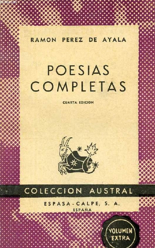 POESIAS COMPLETAS, COLECCIÓN AUSTRAL, N° 249