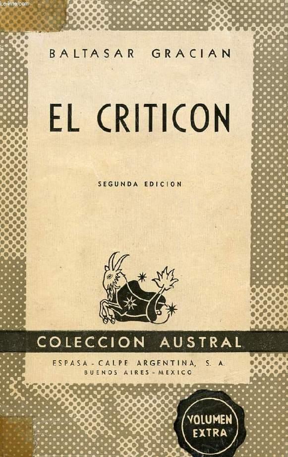 EL CRITICON, COLECCIÓN AUSTRAL, N° 400