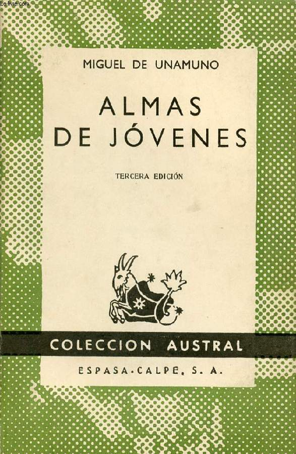 ALMAS DE JOVENES, COLECCIÓN AUSTRAL, N° 499