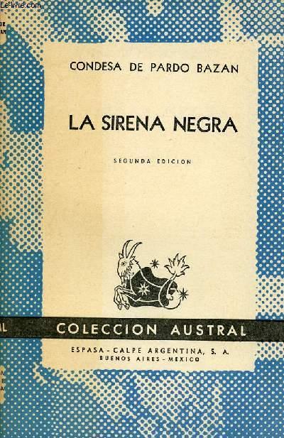 LA SIRENA NEGRA, COLECCIÓN AUSTRAL, N° 760