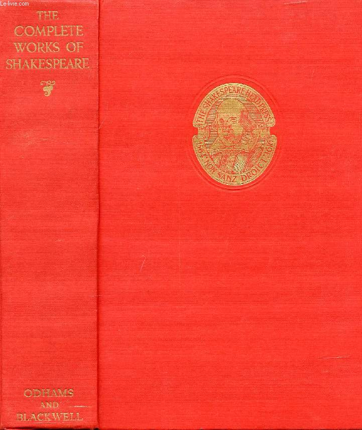THE WORKS OF WILLIAM SHAKESPEARE GATHERED INTO ONE VOLUME