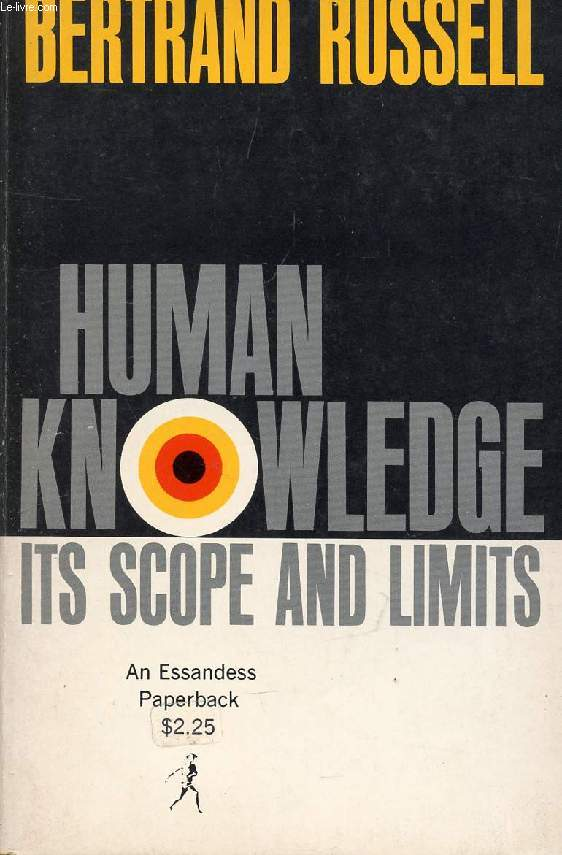 HUMAN KNOWLEDGE, ITS SCOPE AND LIMITS