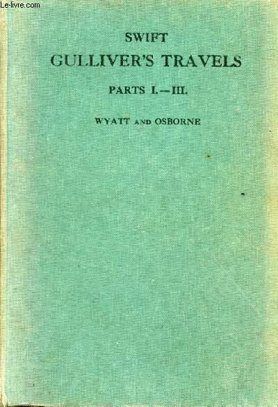 GULLIVER'S TRAVELS, PARTS I-III