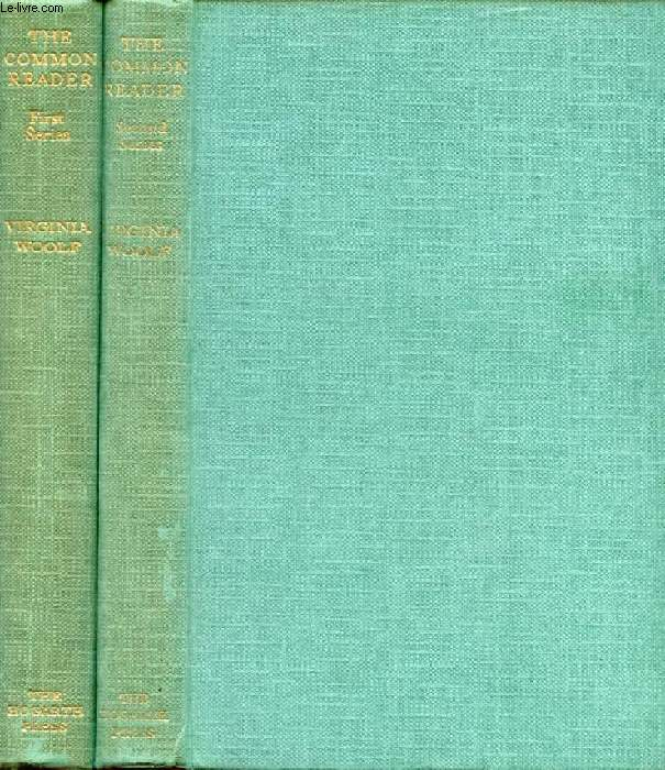 THE COMMON READER, 2 VOLUMES