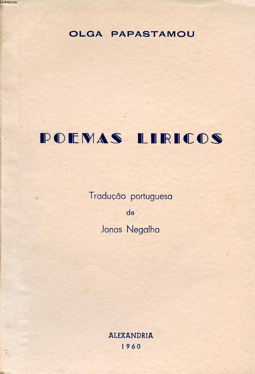 POEMAS LIRICOS