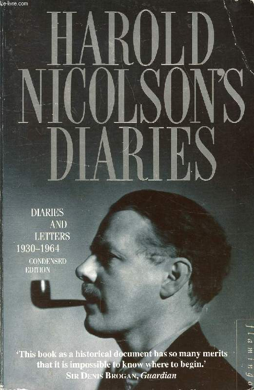 DIARIES AND LETTERS, 1930-1964