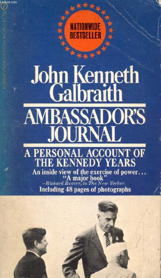 AMBASSADOR'S JOURNAL, A Personal Account of the Kennedy Years