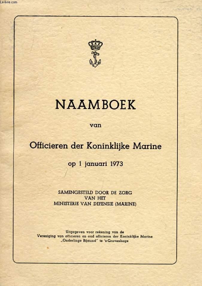 officier koninklijke marine