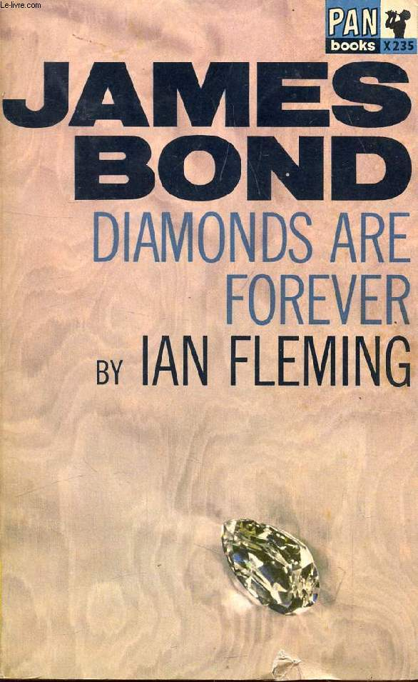 JAMES BOND, DIAMONDS ARE FOREVER