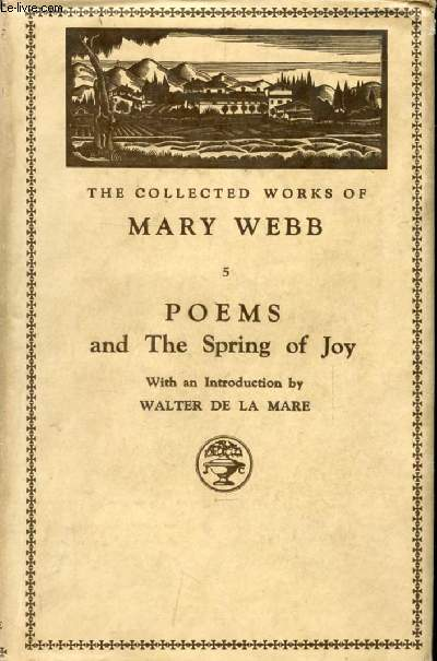 POEMS, And THE SPRING OF JOY