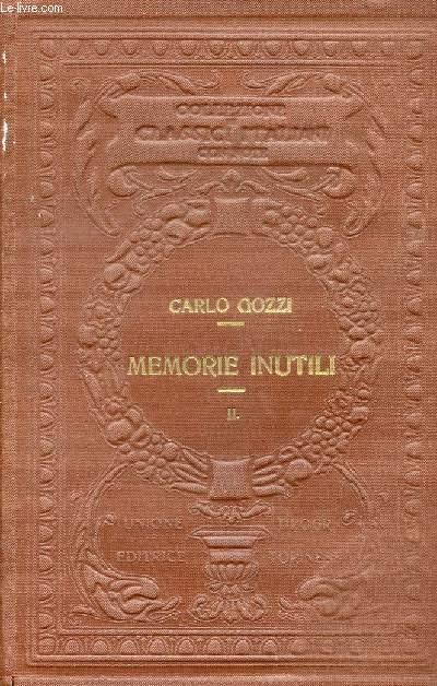MEMORIE INUTILI, VOLUME II