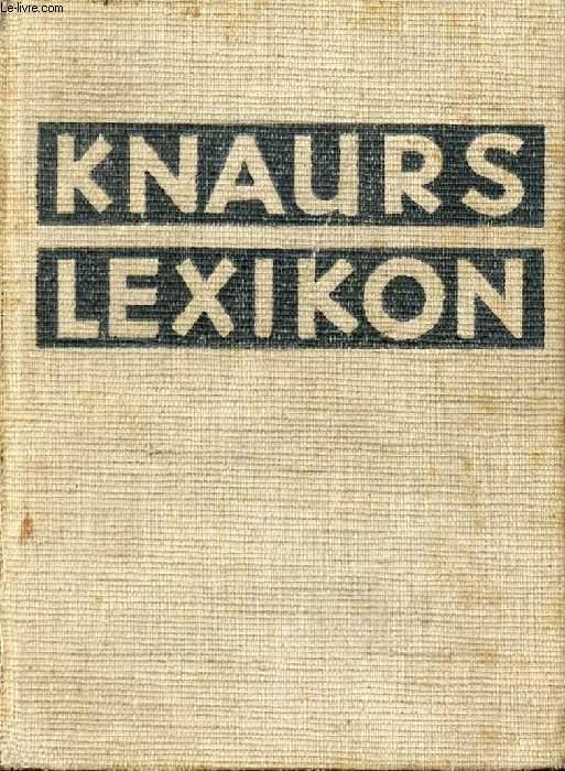 KNAURS LEXIKON A-Z