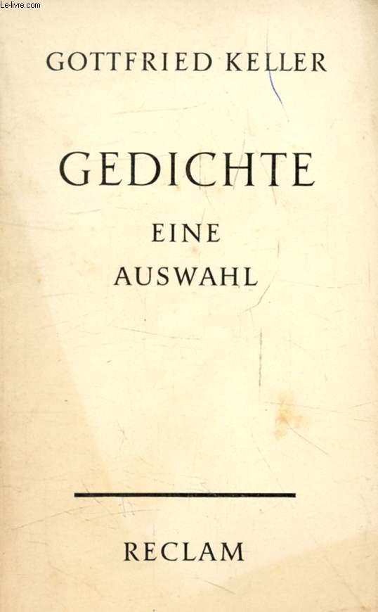 GEDICHTE, Eine Auswahl