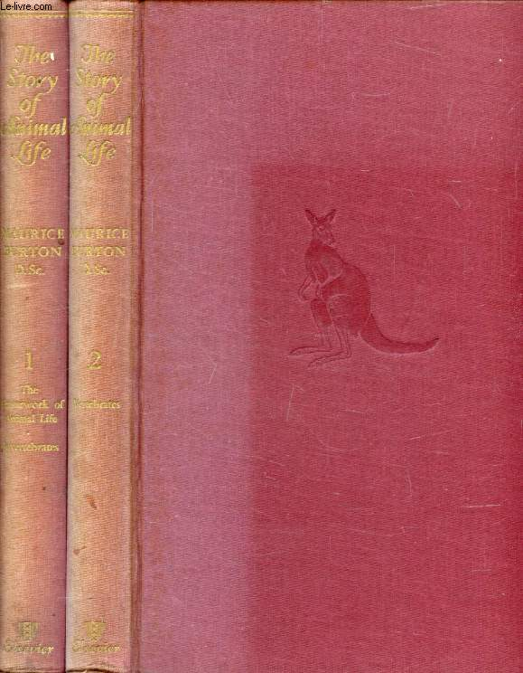 THE STORY OF ANIMAL LIFE, 2 VOLUMES
