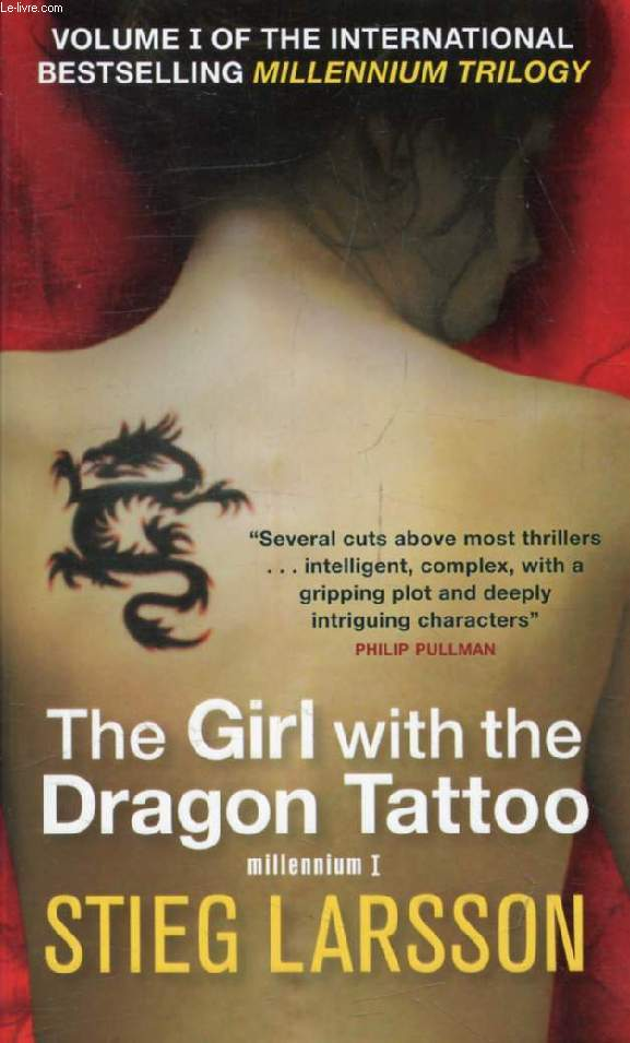 THE GIRL WITH THE DRAGON TATTOO (MILLENIUM, I)