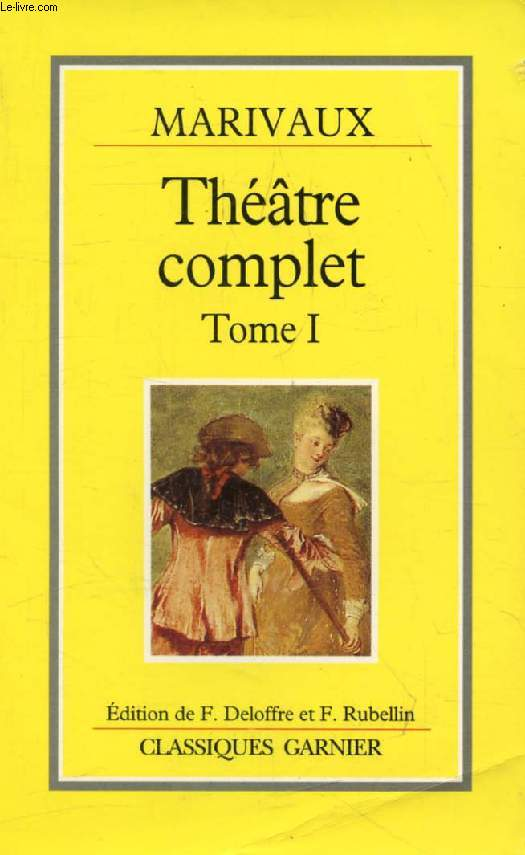 THEATRE COMPLET, TOME I