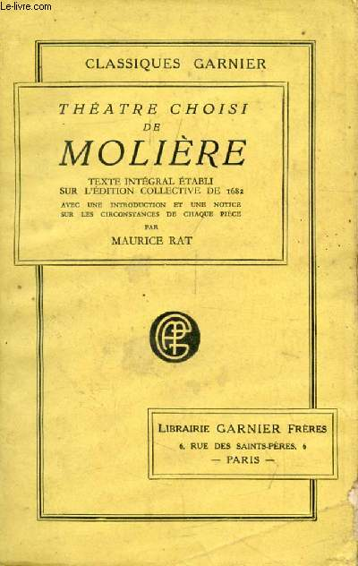 THEATRE CHOISI DE MOLIERE