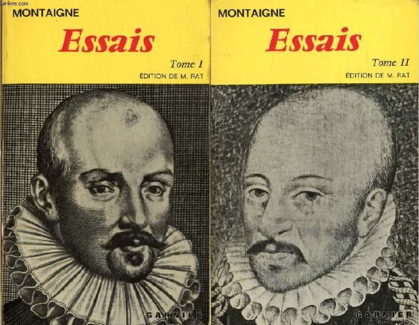 ESSAIS, 2 TOMES
