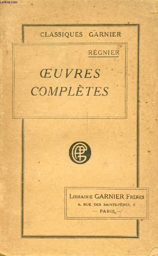 OEUVRES COMPLETES DE REGNIER