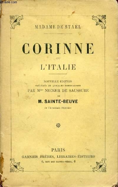 CORINNE, OU L'ITALIE