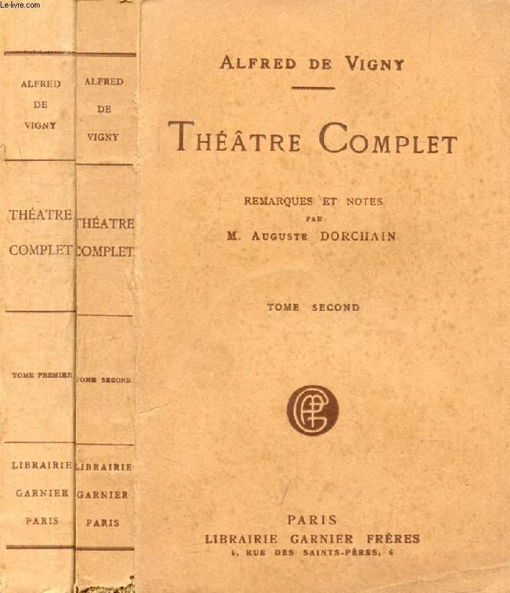 THEATRE COMPLET, 2 TOMES (THEATRE EN PROSE / THEATRE EN VERS)