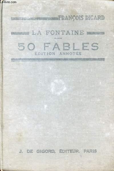 50 FABLES DE LA FONTAINE