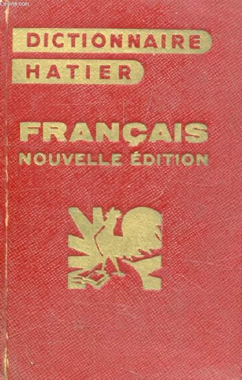 DICTIONNAIRE ESSENTIEL DE LA LANGUE FRANCAISE