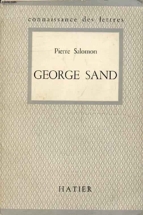 GEORGE SAND (Connaissance des Lettres)