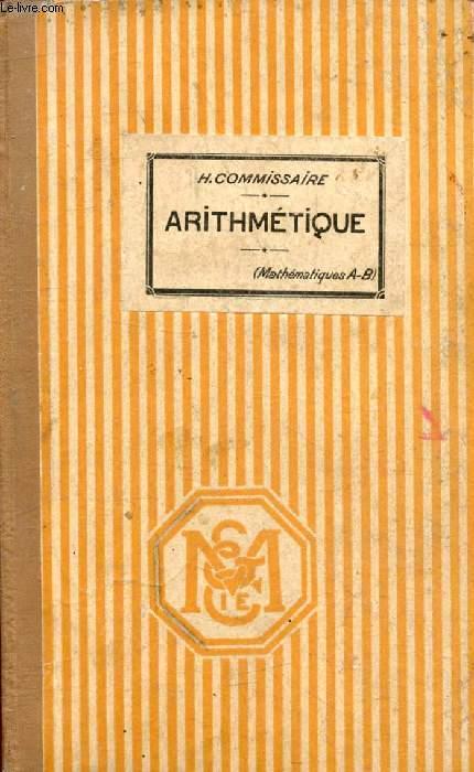 LECONS D'ARITHMETIQUE, CLASSE DE MATHEMATIQUES
