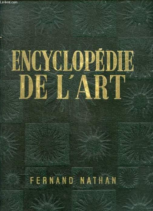 ENCYCLOPEDIE DE L'ART, LES ARTS PLASTIQUES