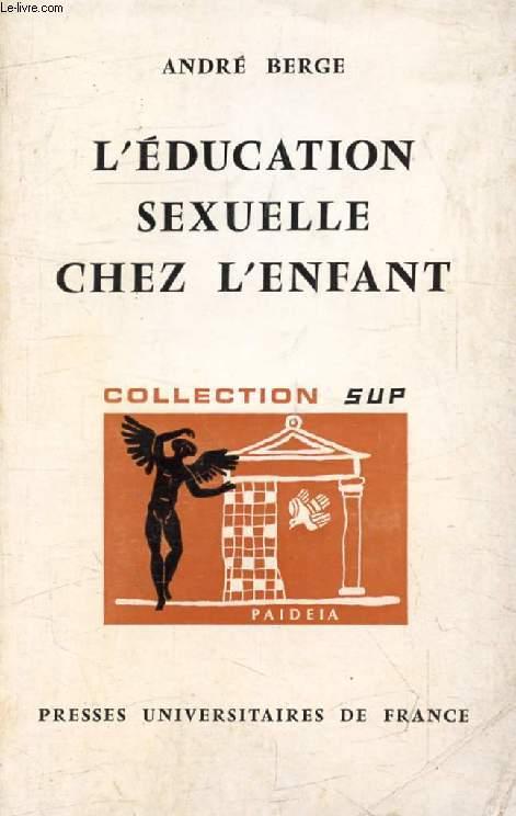 L'EDUCATION SEXUELLE CHEZ L'ENFANT (Paideïa)