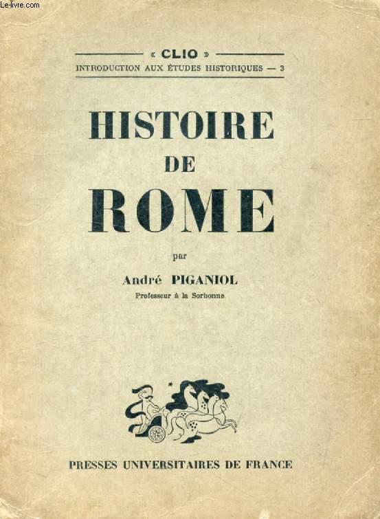HISTOIRE DE ROME (Clio)