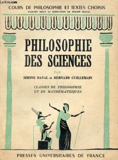 PHILOSOPHIE DES SCIENCES, CLASSE DE PHILOSOPHIE ET DE MATHEMATIQUES, PREPARATION AUX G.E.