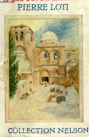 Jérusalem.