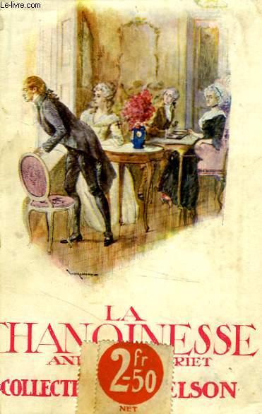 La Chanoinesse.