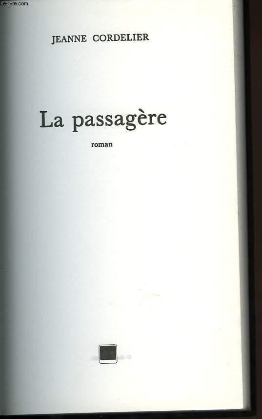 LA PASSAGERE