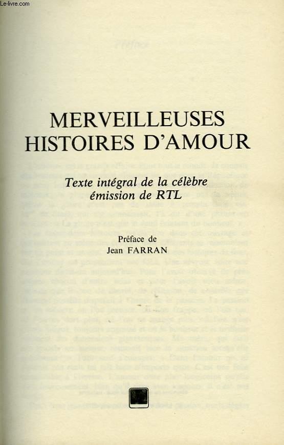 HISTOIRES D AMOUR