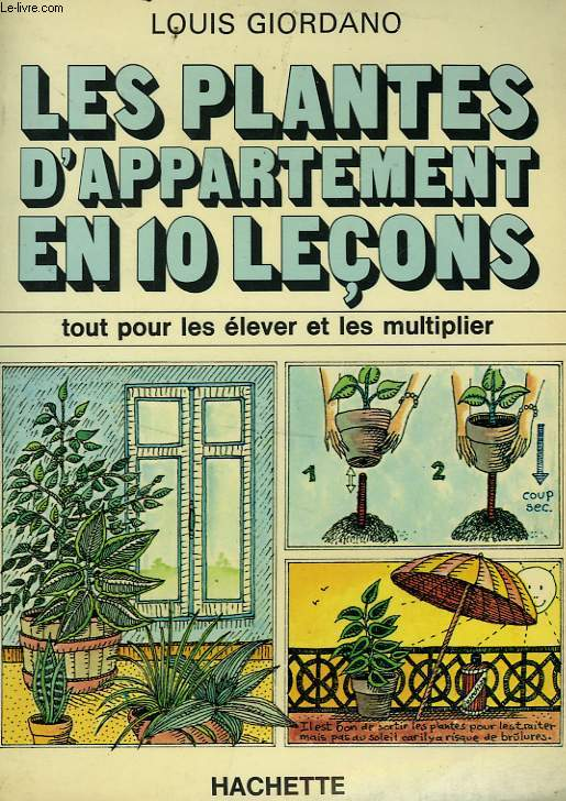 LES PLANTES D'APPARTEMENT EN 10 LECONS