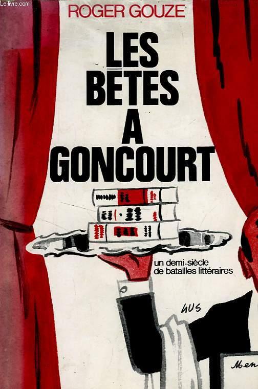 LES BETES A GONCOURT