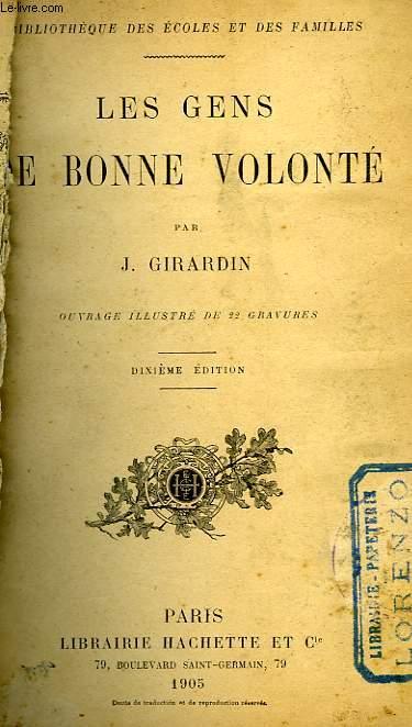 LES GENS DE BONNE VOLONTE