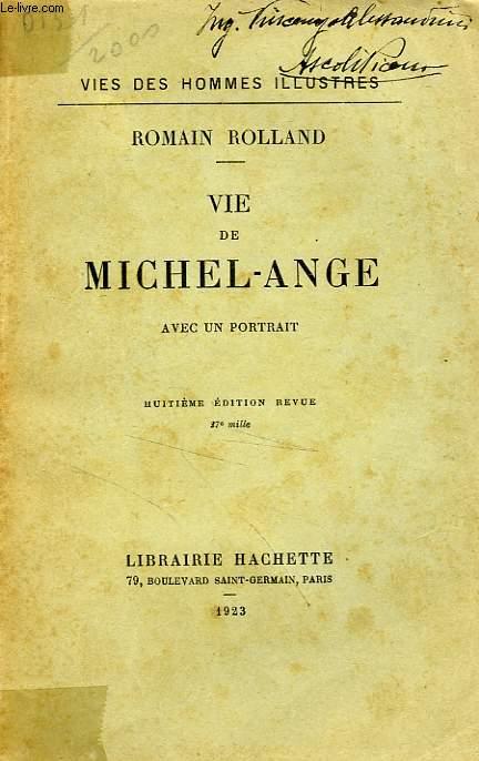 VIE DE MICHEL-ANGE